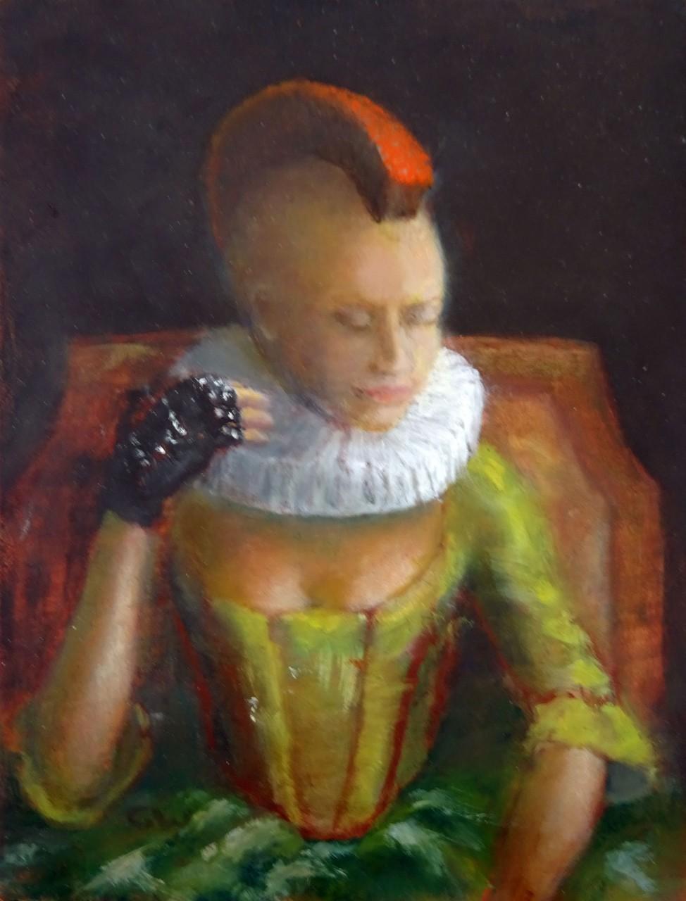 Vrouw met de hanenkam