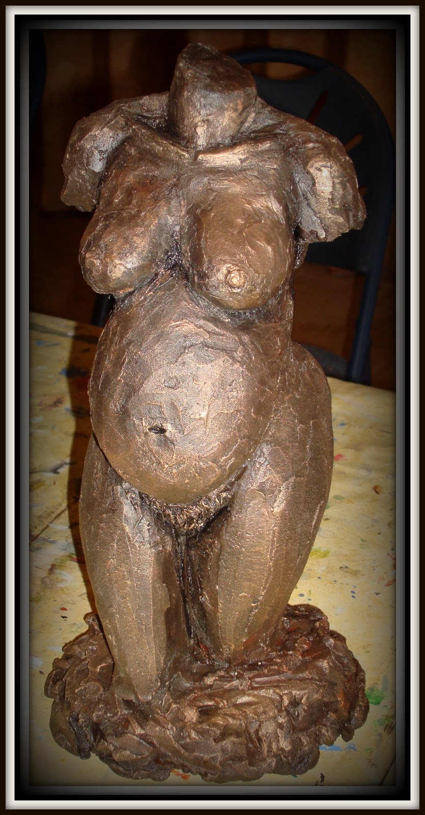 Vrouwenbeeld zwanger